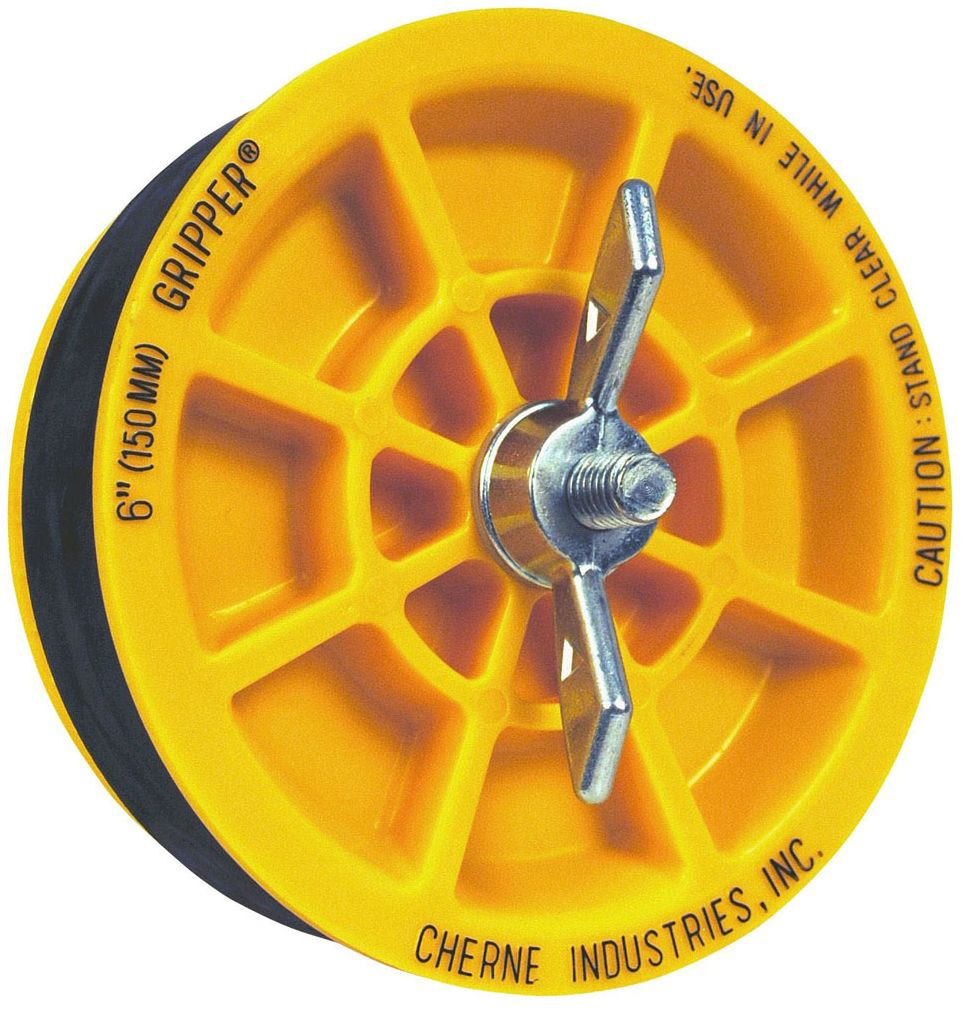 Cherne 270-237 3 Gripper Plug Oatey 270237
