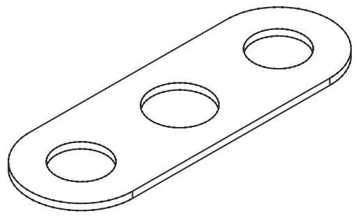 1 Ips White Flex F/&C Plate